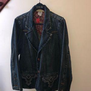 Vintage Z Cavaricci Jean Jacket